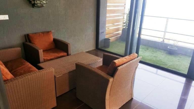 Appartement meubl louer sur la corniche 2simmo2simmo for Appartement meuble a dakar