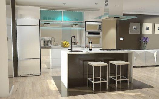 design decor cuisine americaine